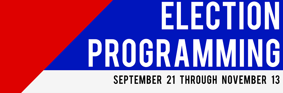 Election Programming Banner