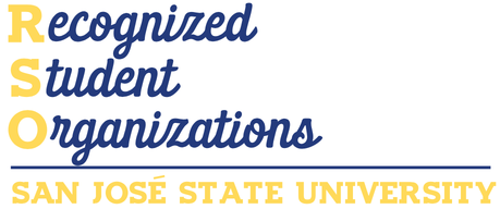 Logo graphic for San Jose State University Registered Student Organizations (RSO)