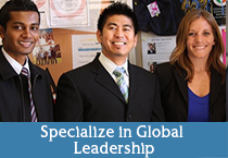 Specialize in Global Leadership