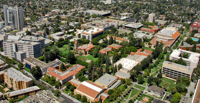 Aerial View of SJSU Campus