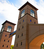 A photo of the SJSU Gates