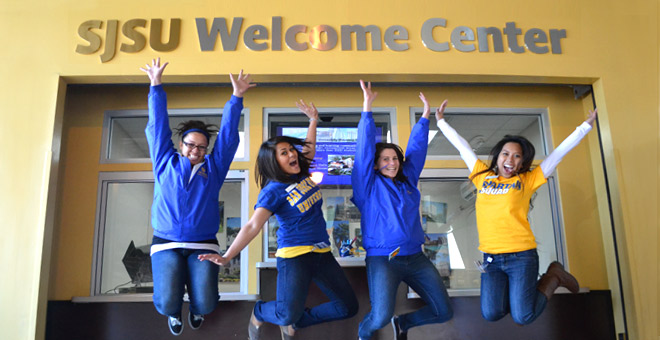 SJSU Welcome Center Photo