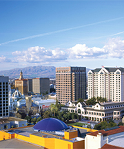 Downtown San Jose Skyline
