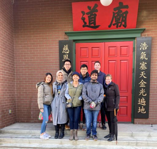 Chinese Museum San Jose History Park RA Team photo