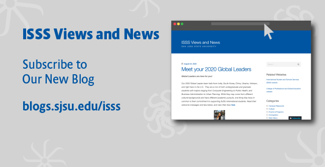 ISSS Blog announcement 2020 Aug