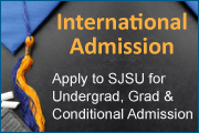 International Admission: Apply to SJSU for Undergrad, Grad, and Conditional Admission