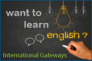 Want to learn English? International Gateways