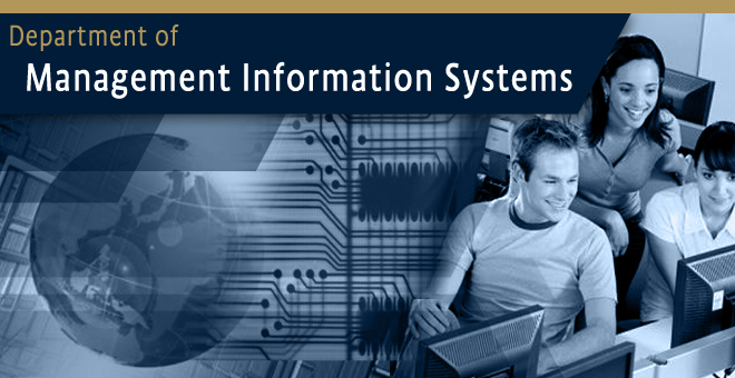 Department of Management Information Systems
