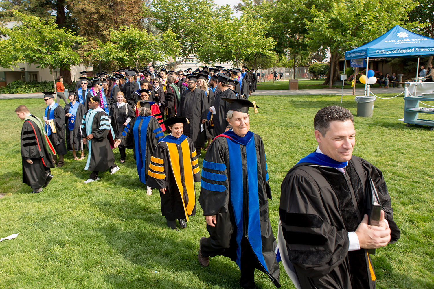 SJSU KIN Faculty Grad Walk