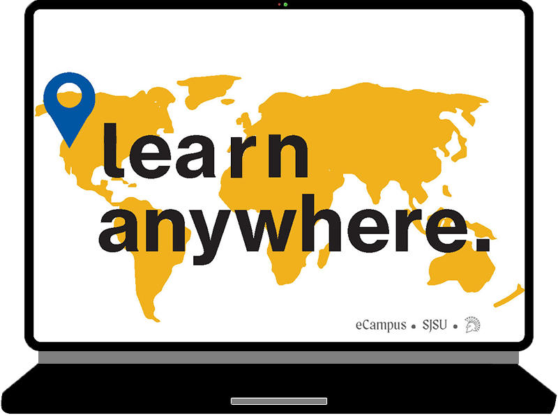 eCampus Learning Anywhere banner image