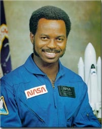 portrait of Ronald McNair