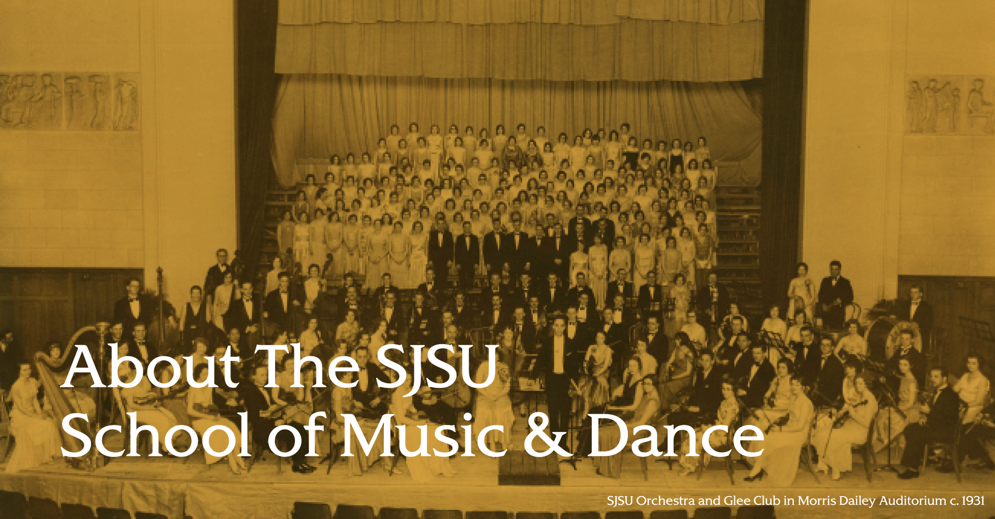 About the SJSU School of Music & Dance
