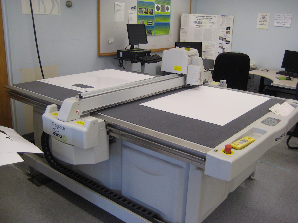 Photo of Equipment in the Packaging Lab at SJSU