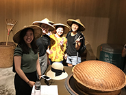 photo of Taiwan group with hats