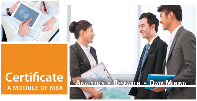 Certificate: Analytics, Research, Data Ming