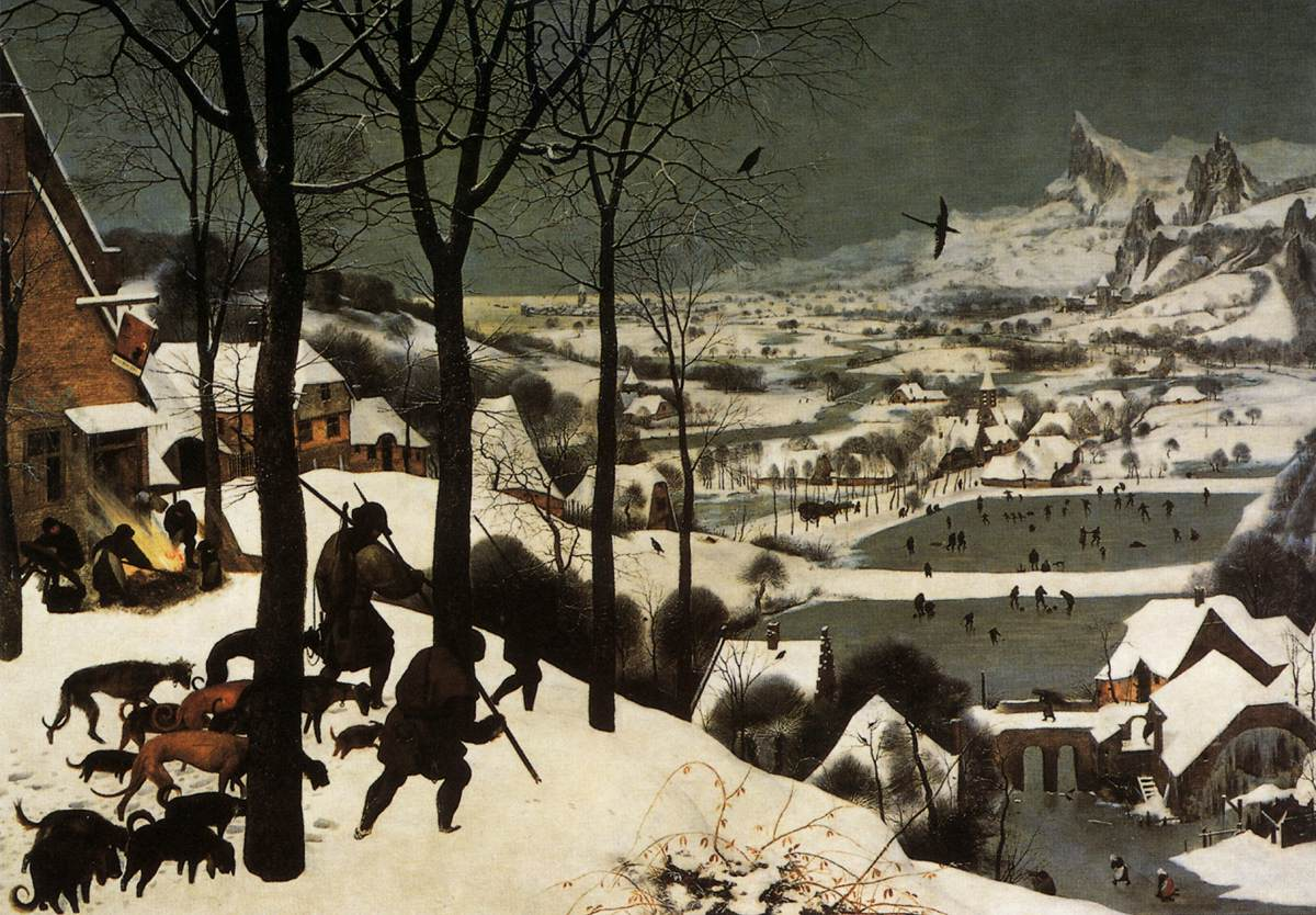 The Hunters in the Snow by Pieter Bruegel the Elder