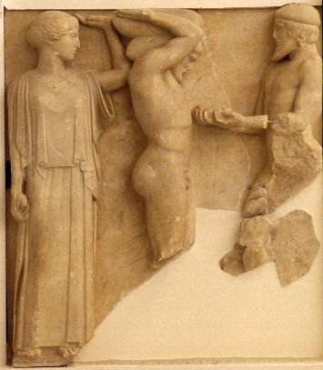 Herakles and the Golden Apples from the Garden of Herperides - Temple of Zeus