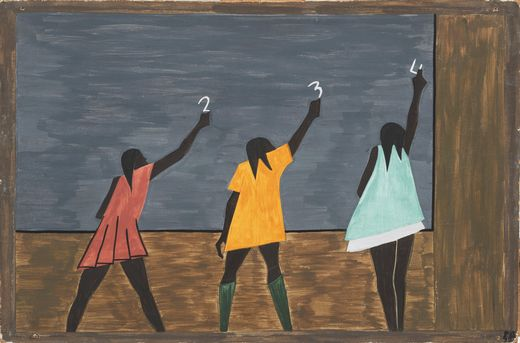 In the Classroom, Jacob Lawrence