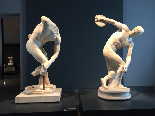 Two Discobouloi, Terme Museum, Rome
