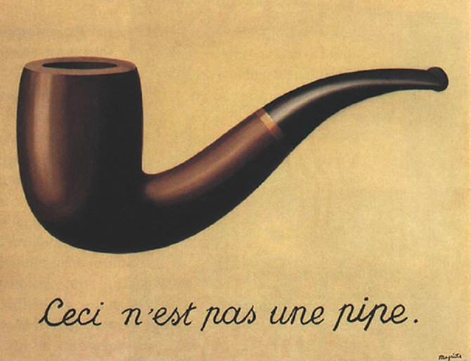 This is not a pipe....