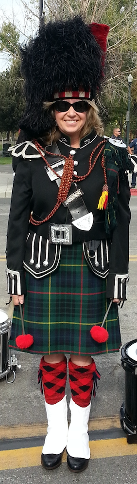 Bagpipe music is good for the soul!