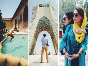 smartphone photos of daily life in Iran