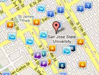 Incident & Crime Map | Police Department | San Jose State