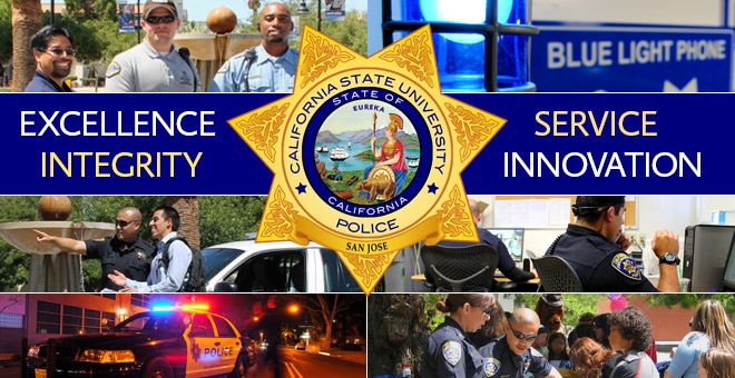 University Police Department (UPD) | San Jose State University