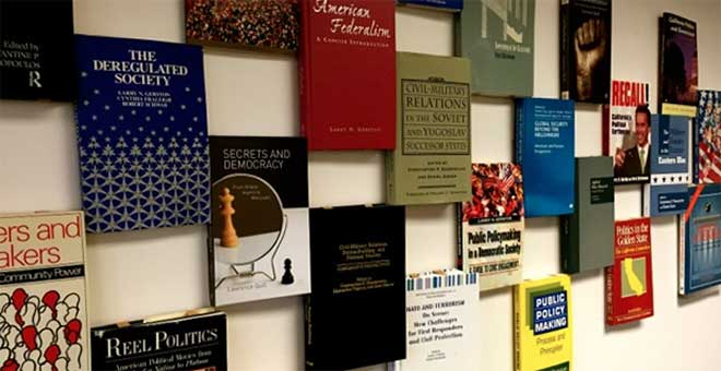 Books Published by the Faculty of the SJSU Department of Political Science