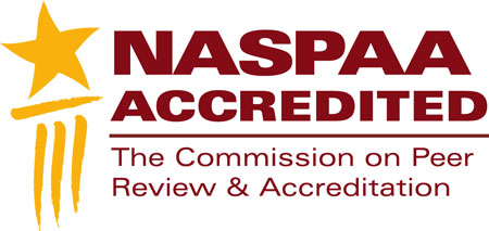 NASPAA accredited The Commission on Peer Review and Accreditation
