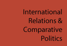 International Relations & Comparative Politics