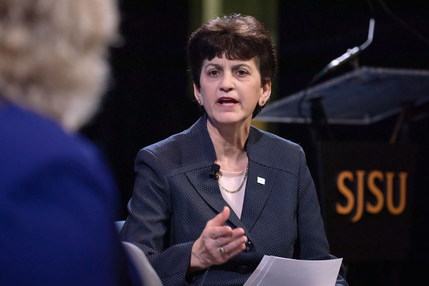 Mary Papazian speaking