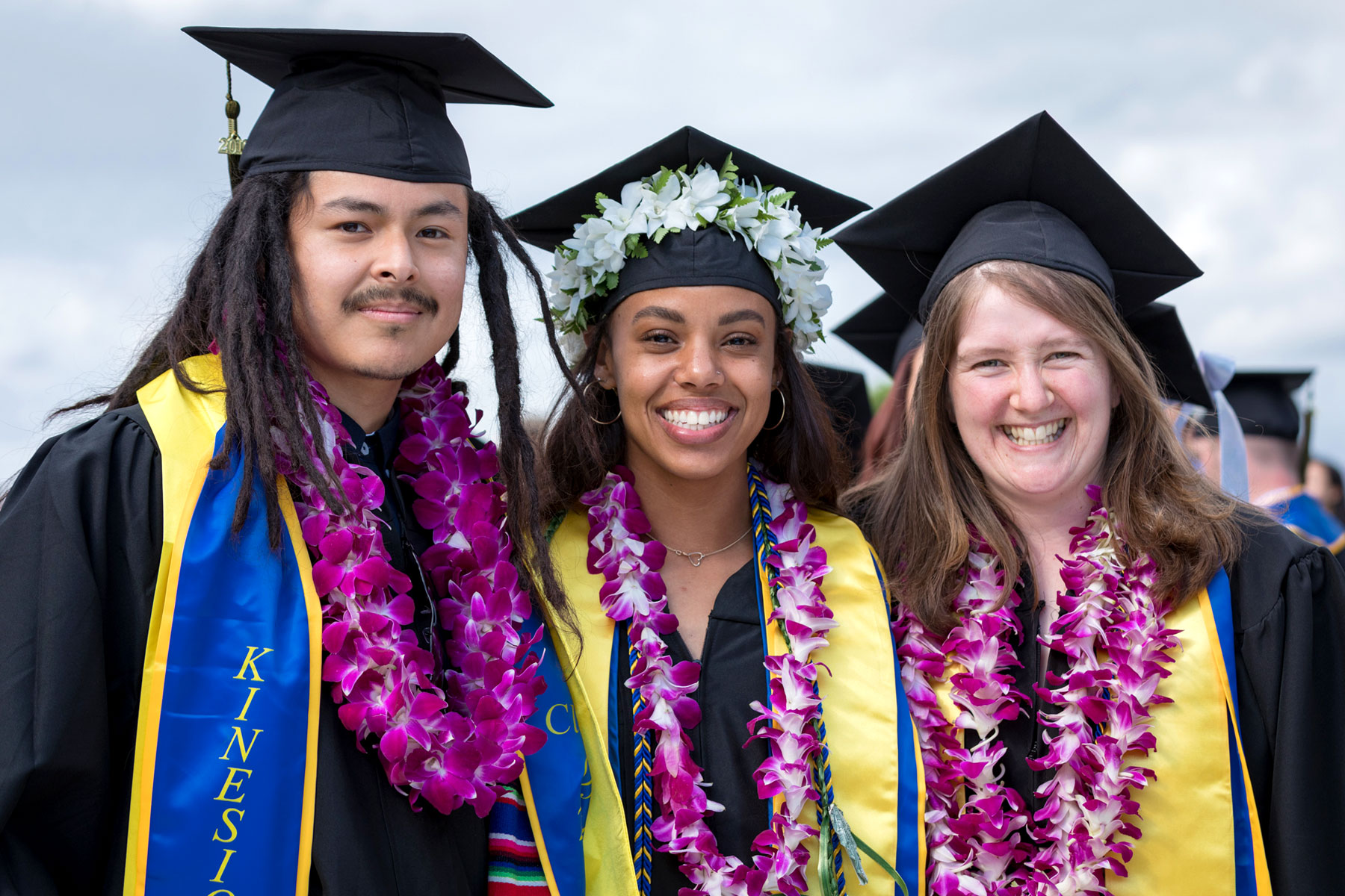 SJSU students at commencement.