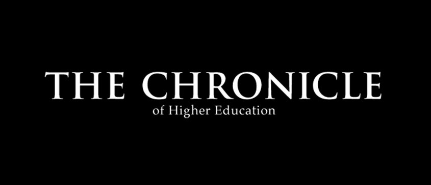 Chronicle of Higher Education logo.