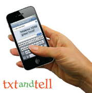 text and tell icon