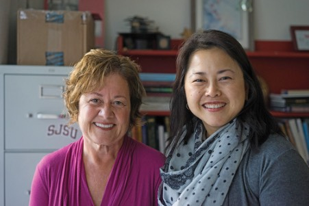 June McCullough and Wendy Quach