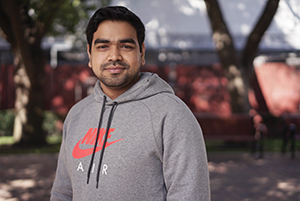 SJSU Student Abhishek Singh