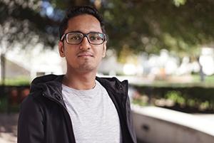 SJSU Student Aditya Sunil Choudhari
