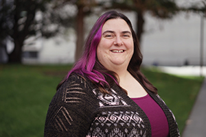 SJSU Student Beth Johnson
