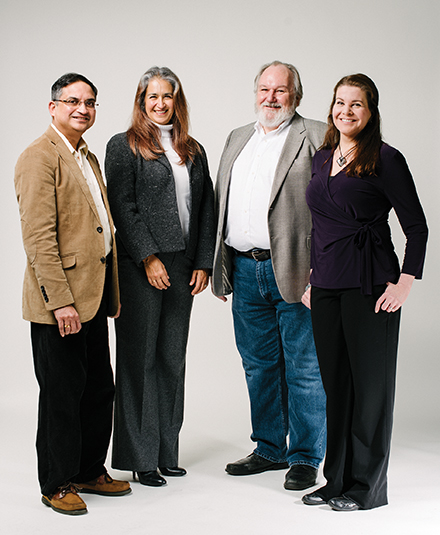 Subhankar Dhar, Esperanza Huerta, Scott Jensen, and Leslie Albert