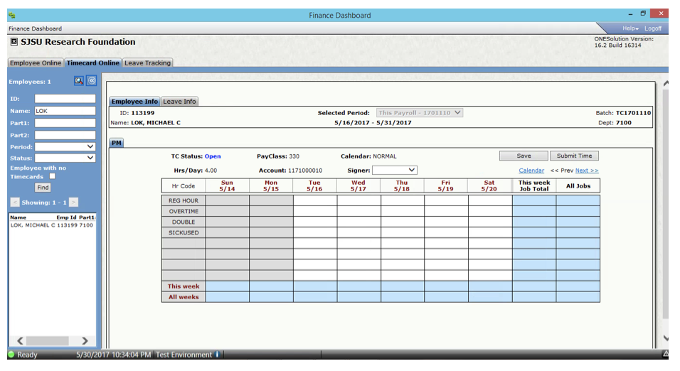 timecard - Online Time Card