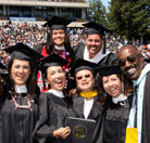 photo: grads at commencement