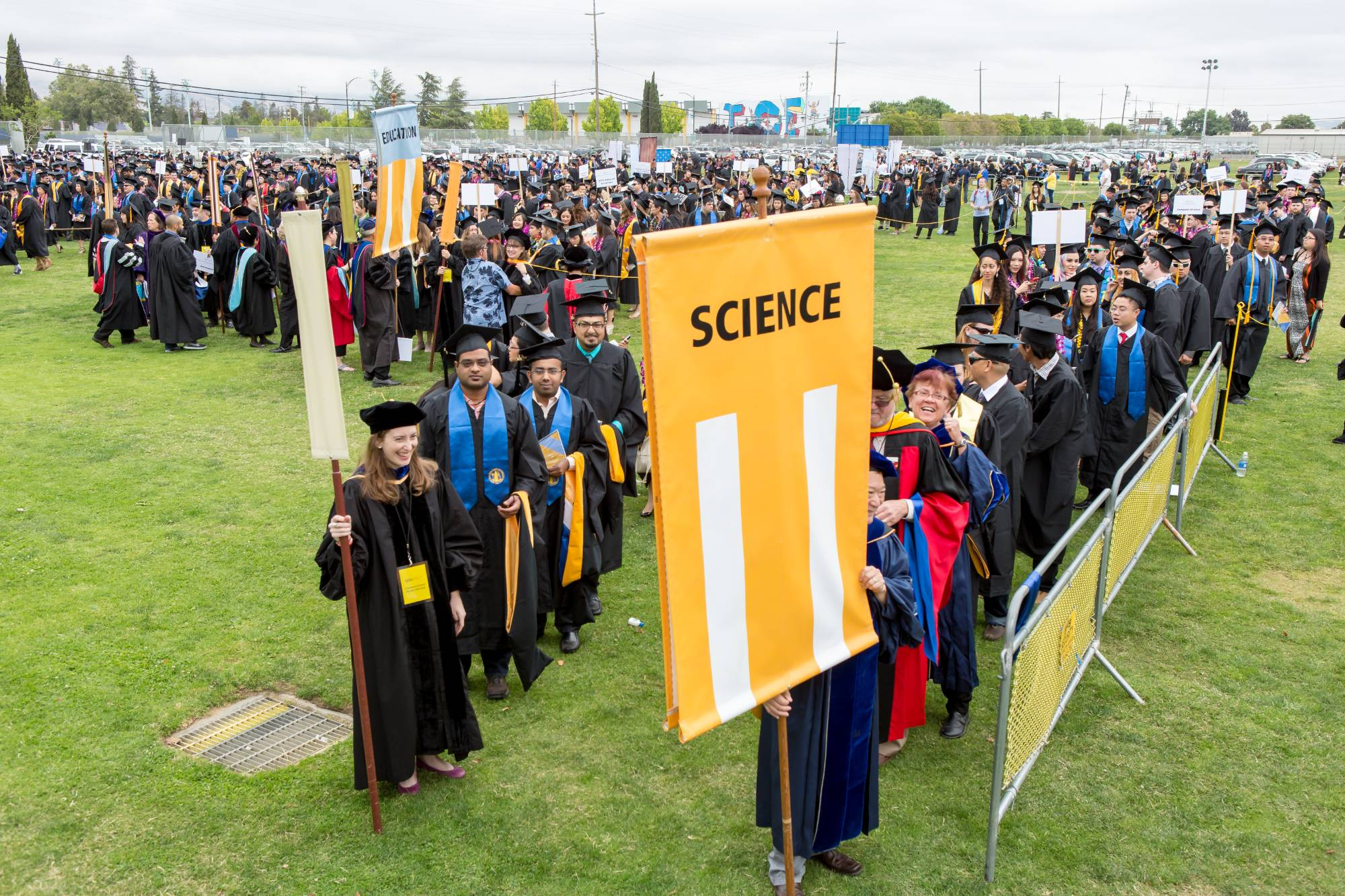 College of Science graduation