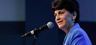 President Papazian delivers fall welcome address