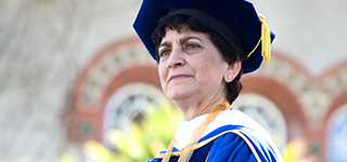 President Mary Papazian inauguration will take place on SJSU's campus