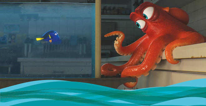 Finding Dory and Paul Abadilla