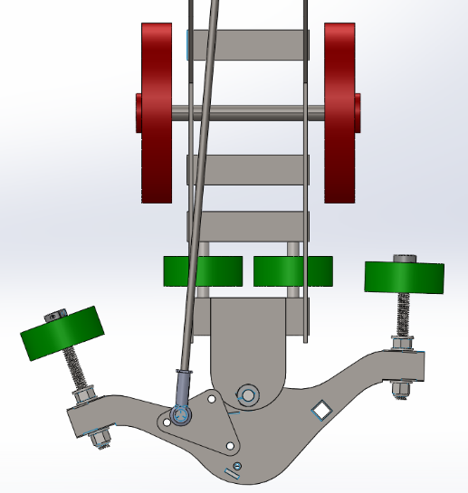 Steering Mechanism Render 1