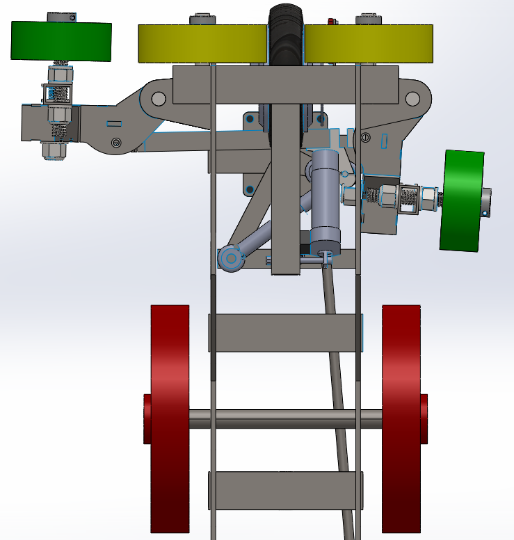 Steering Mechanism Render 3