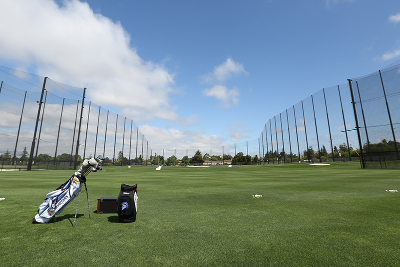 photo of the Main Tee (driving range area) at Spartan Golf Complex