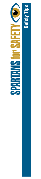 Spartans for Safety - Safety Tips